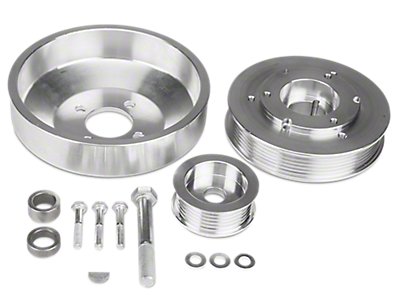 Underdrive Pulleys<br />('99-'04 Mustang)