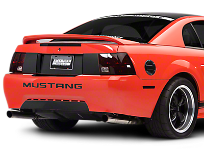Decklid & Rear Bumper Decals<br />('99-'04 Mustang)