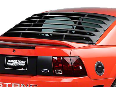 Louvers - Rear Window<br />('99-'04 Mustang)