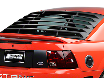 Louvers - Rear Window<br />('99-'04 Mustang)