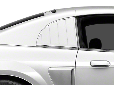 Side Window Louvers & Scoops 1999-2004