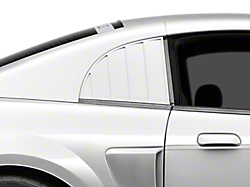 Louvers - Quarter Window<br />('99-'04 Mustang)