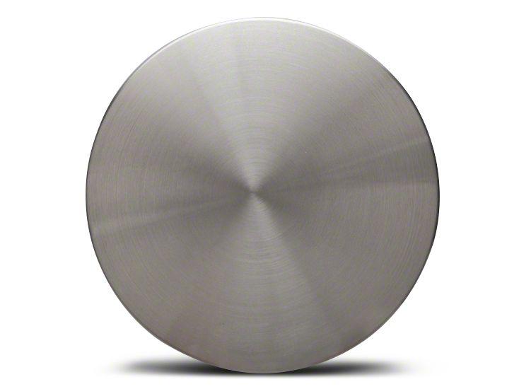 Silver Brushed Center Cap - Large