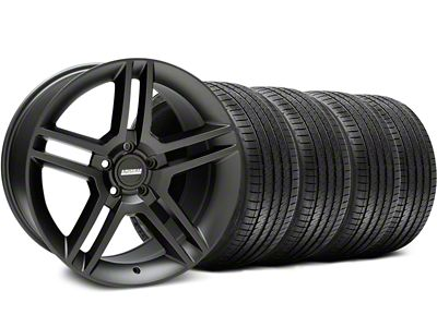 2010 GT500 Style Matte Black Wheel & Sumitomo Tire Kit - 18x9 (05-14 All)