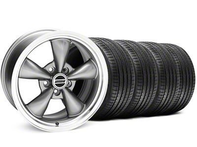 Bullitt Anthracite Wheel & Sumitomo Tire Kit - 17x8 (94-04 All)