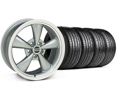 Bullitt Anthracite Wheel & Sumitomo Tire Kit - 17x8 (05-10 GT; 05-14 V6)