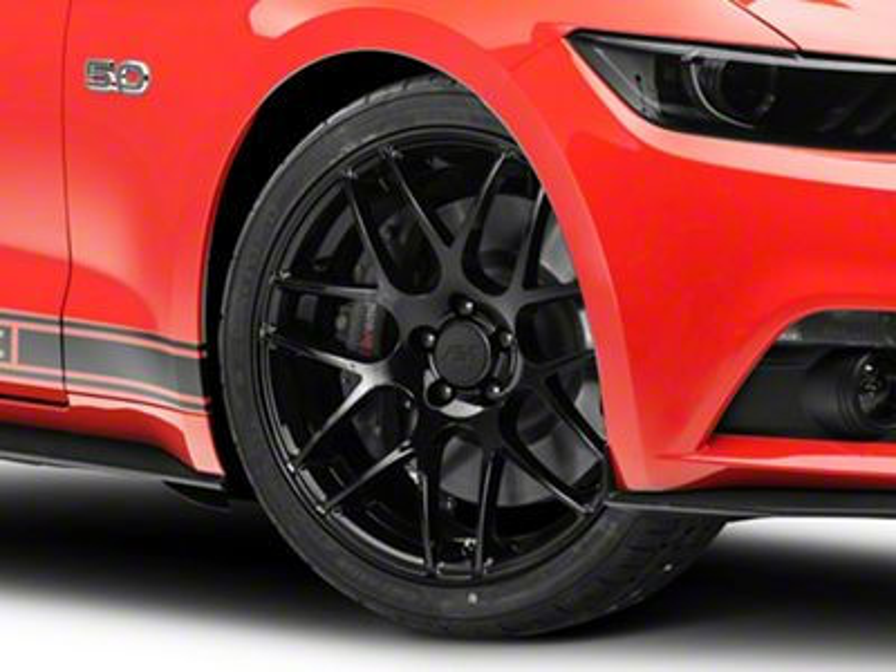 AMR Black Wheel - 20x8.5 (15-19 GT, EcoBoost, V6)