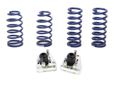 SR Performance Caster Camber Plate & Lowering Spring Kit (79-93 V8)