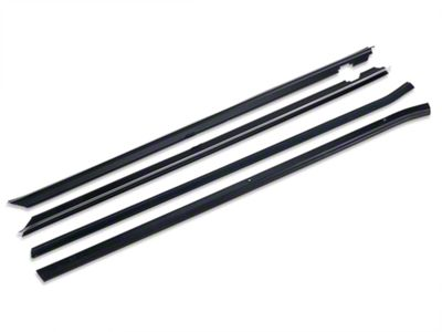 OPR Inner & Outer Door Window Weatherstrip Kit (87-93 Coupe, Hatchback)