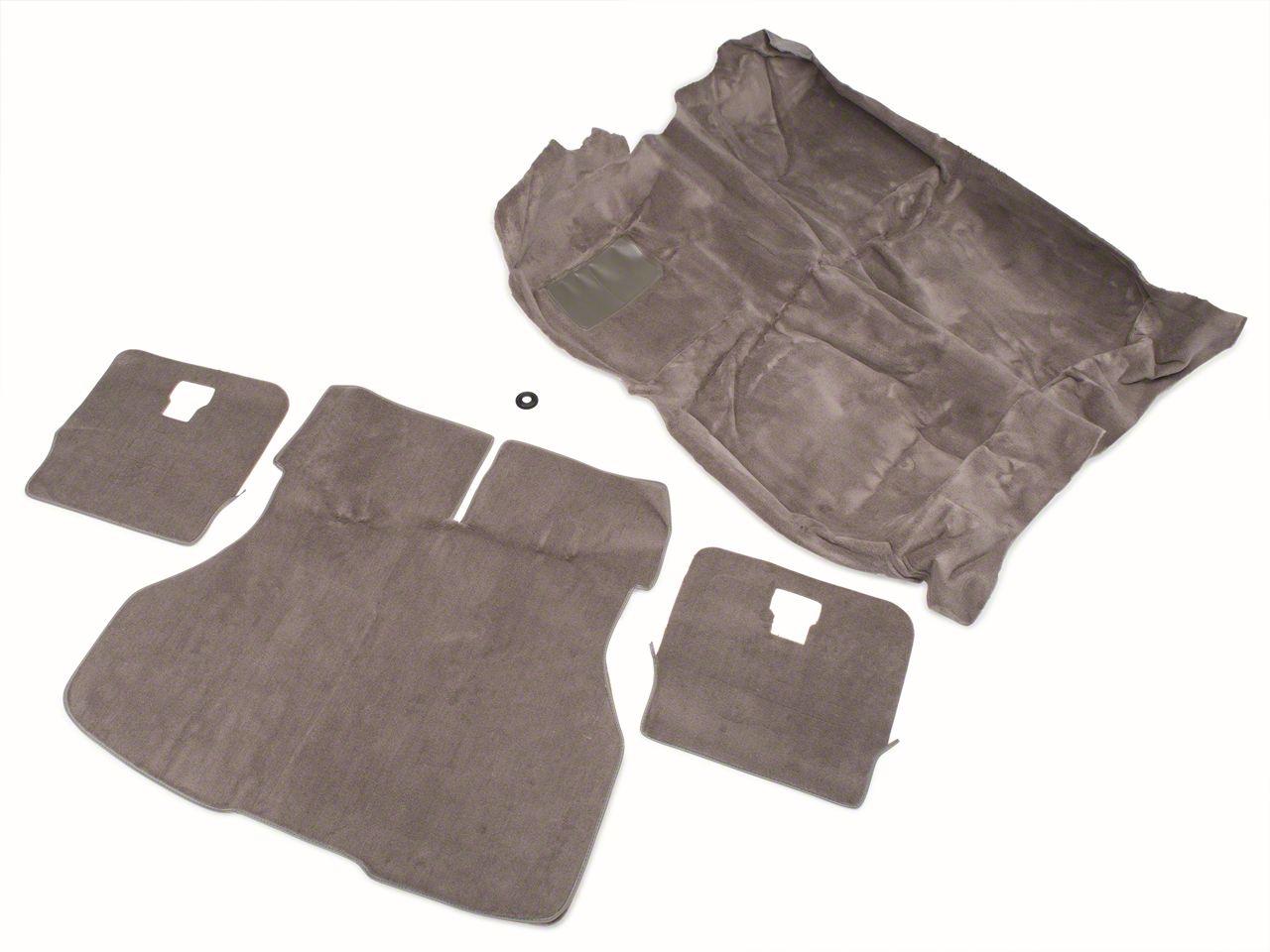 OPR Floor and Hatch Carpet Kit - Smoke Gray (87-89 Hatchback)