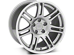 Anthracite 10th Anniversary Style Wheels<br />('94-'98 Mustang)