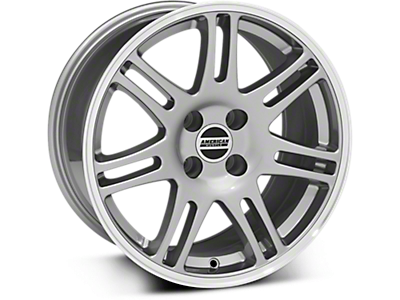 Anthracite 10th Anniversary Style Wheels (79-93)