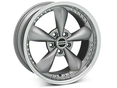 Anthracite Bullitt Motorsport Wheels<br />('99-'04 Mustang)
