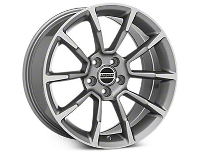 Anthracite GT/CS Style Wheels 2005-2009