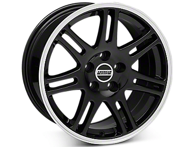 Black 10th Anniversary Style Wheels 2005-2009