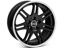 Black 10th Anniversary Style Wheels<br />('05-'09 Mustang)