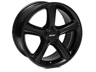 Black 2010 GT Premium Style Wheels<br />('05-'09 Mustang)