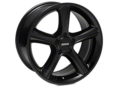 Black 2010 GT Premium Wheels<br />('94-'98 Mustang)