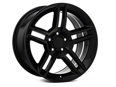 Black 2010 GT500 Style Wheels<br />('05-'09 Mustang)