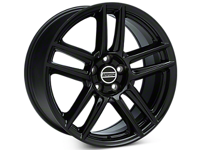 Black Boss Laguna Seca Style Wheels 2005-2009