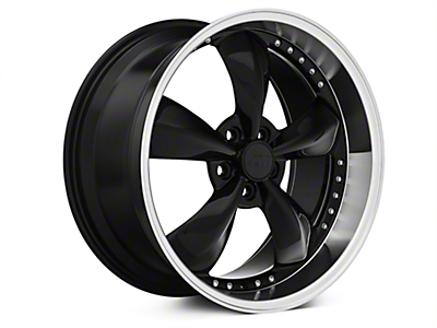 Black Bullitt Motorsport Wheels<br />('05-'09 Mustang)