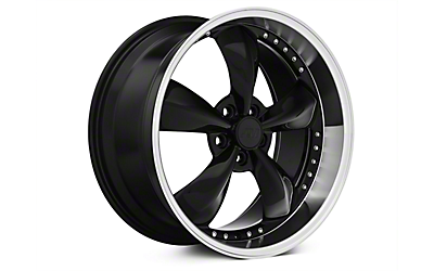 Black Bullitt Motorsport Wheels 2005-2009
