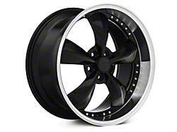 Black Bullitt Motorsport Wheels<br />('79-'93 Mustang)