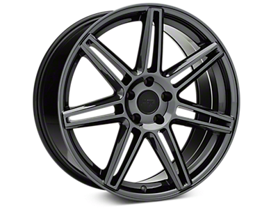 Black Chrome Niche Lucerne Wheels<br />('15-'20 Mustang)