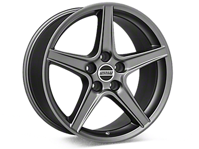 Black Chrome Saleen Style Wheels<br />('99-'04 Mustang)