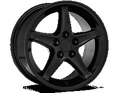 Black 1995 Cobra R Wheels<br />('99-'04 Mustang)