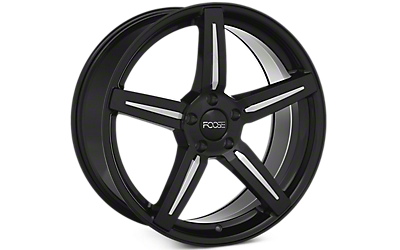 Black Foose Enforcer Wheels 2005-2009