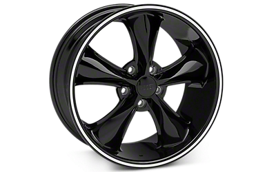 Black Foose Legend Wheels 2005-2009
