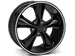Black Foose Legend Wheels<br />('05-'09 Mustang)