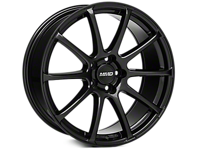 Black MMD Axim Wheels<br />('15-'21 Mustang)