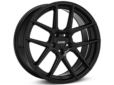 Black MMD Zeven Wheels<br />('15-'19 Mustang)