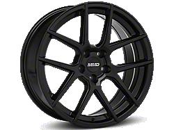 Black MMD Zeven Wheels<br />('05-'09 Mustang)