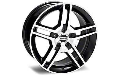 Black Machined 2010 GT500 Wheels 2005-2009