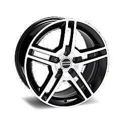 Black Machined 2010 GT500 Style Wheels 1994-1998