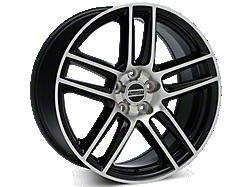 Black Machined Boss Laguna Seca Style Wheels<br />('05-'09 Mustang)