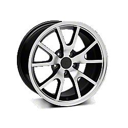 Black Machined FR500 Wheels 2010-2014