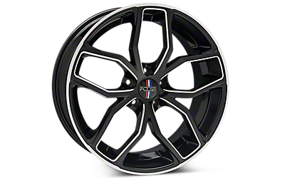 Black Machined Foose Outcast Wheels 2005-2009
