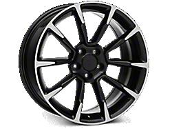 Black Machined GT/CS Style Wheels<br />('05-'09 Mustang)