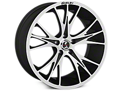 Black Machined Shelby CS1 Wheels<br />('15-'21 Mustang)