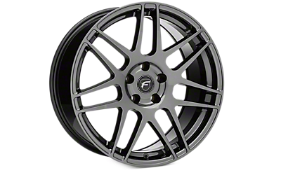 Black Nickel Forgestar F14 Wheels 2005-2009