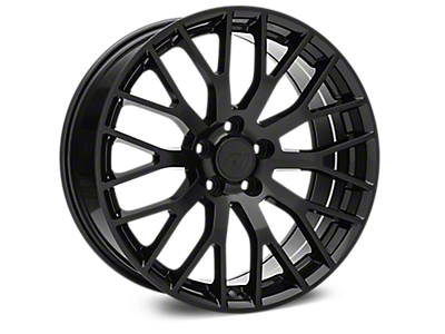 Black Performance Pack Wheels<br />('10-'14 Mustang)