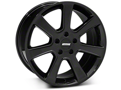 Black S197 Saleen Style Wheels<br />('15-'20 Mustang)