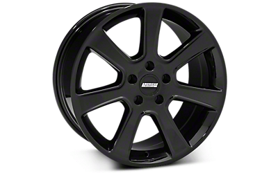 Black S197 Saleen Style Wheels 2005-2009