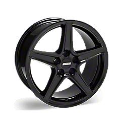 Black Saleen Style Wheels 2005-2009