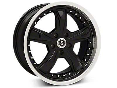 Black Shelby Razor Wheels<br />('05-'09 Mustang)