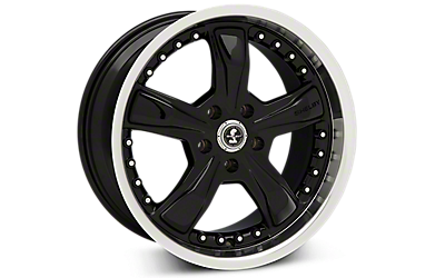 Black Shelby Razor Wheels 2005-2009